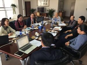 APEC电子商务工商联盟部分专家座谈会2